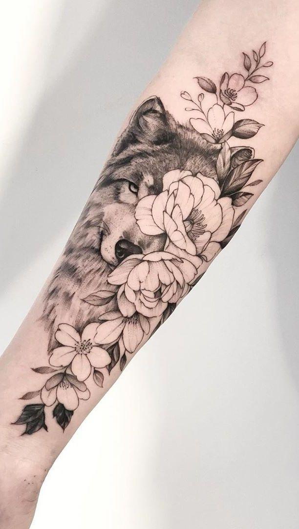 As 230 Melhores Tatuagens de lobo da internet [Femininas e Masculinas] - Top Tatuagens