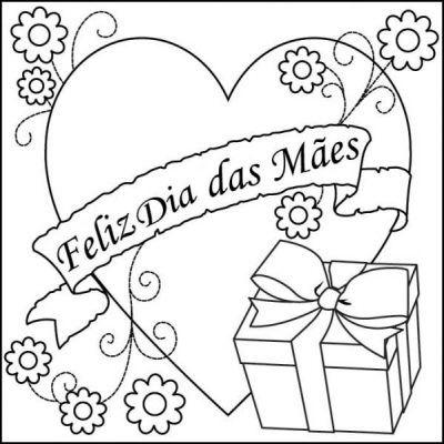 Imagens Do Dia Das Maes Para Colorir 5 Desenhos Dias Das Maes