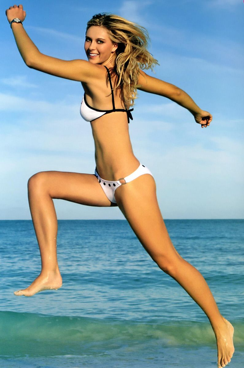 Bikini austalian cleavage seems