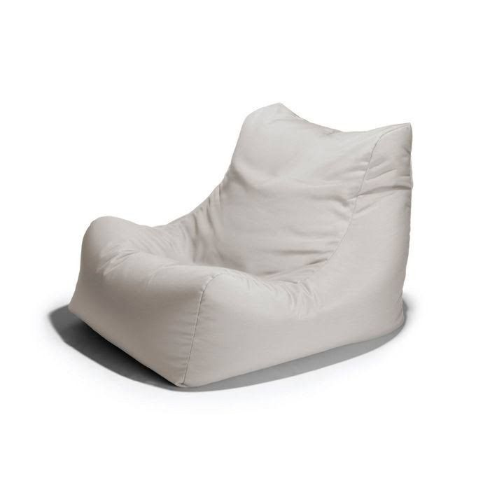Ponce Outdoor Bean Bag Chair White