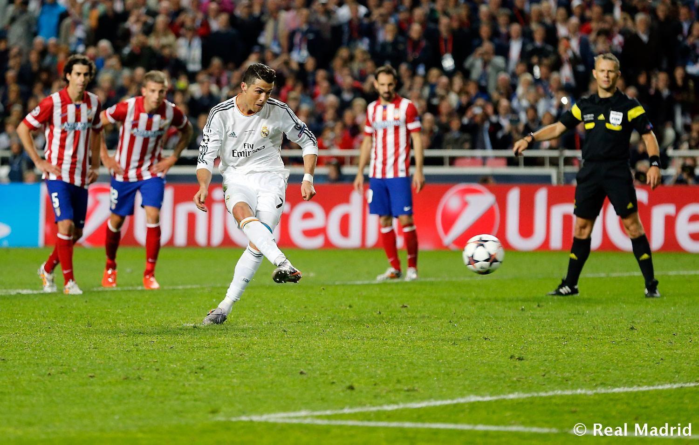 Cristiano Ronaldo Penalty Kick Real Madrid Madrid Cristiano Ronaldo