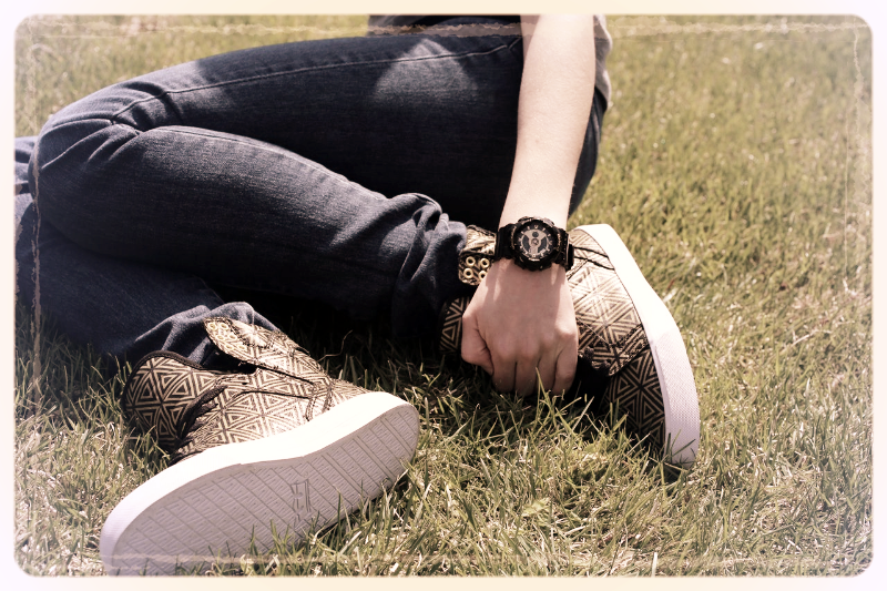 These #supra #Sneakers look amazing with our #Babyg #watch!! #shoes #fashion #cantgetenough