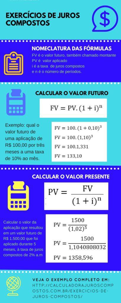 ► Exercícios de juros compostos - Matemática Finan...