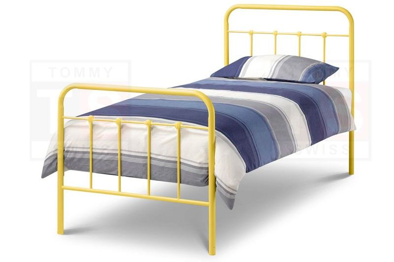 Tommy Swiss is proud to present the Elmo collection metal bed frame ...