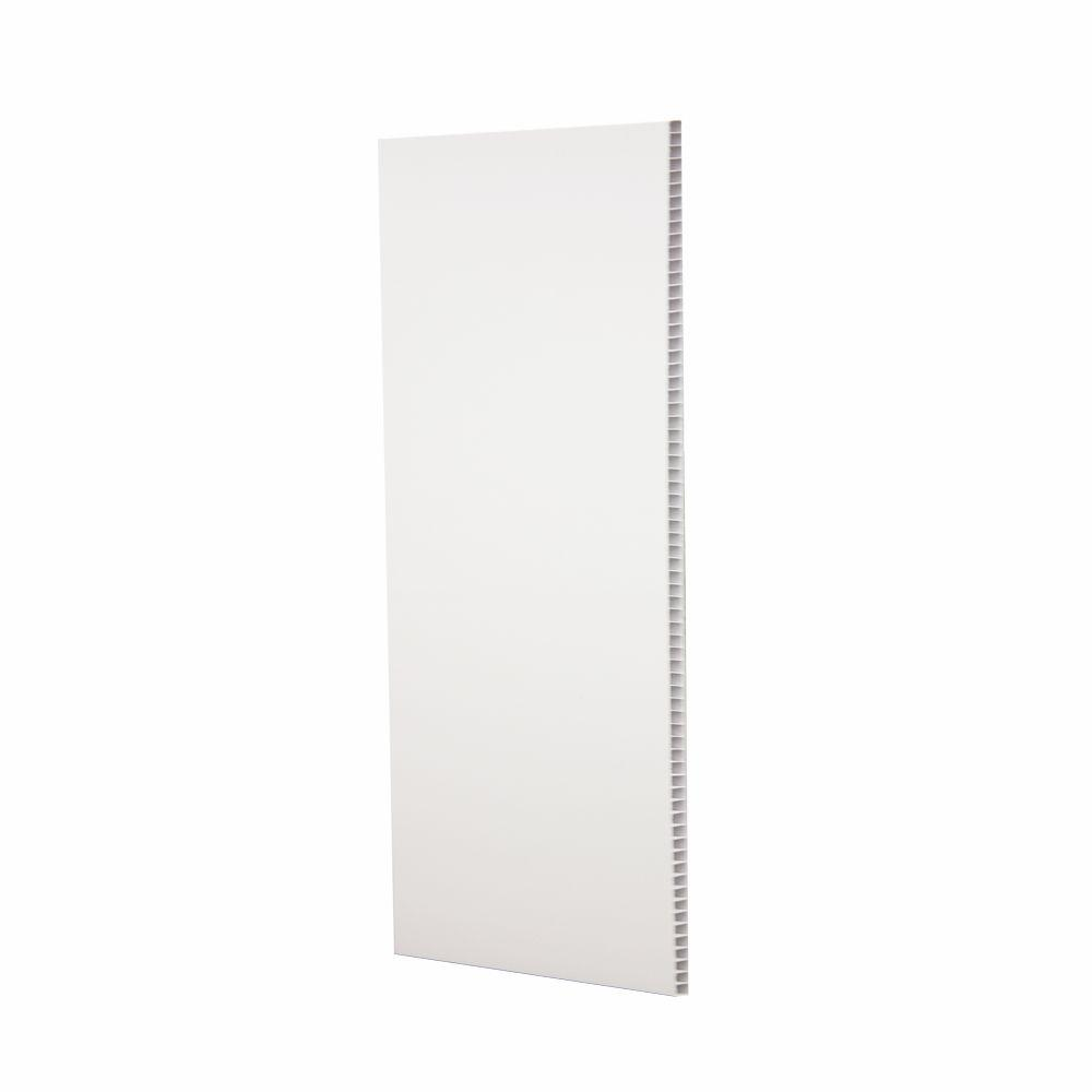 Utilite 3 8 In X 16 In X 96 In White Plastic Tongue And Groove Wall Panel 5 Pack Np400 8 The Home Depot Tongue And Groove Walls Decorative Wall Panels Wall Paneling