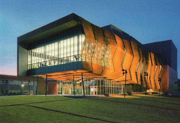 Stevie eller dance theater at university of arizona architecture architecture university of for University of arizona interior design