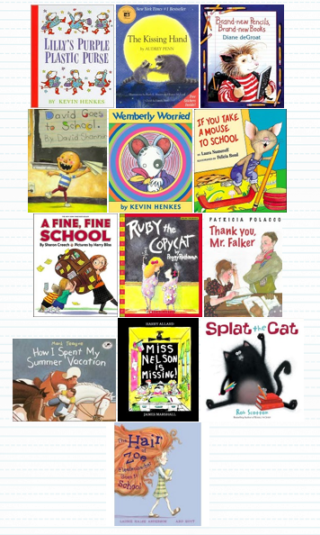 Back-to-school read-alouds.