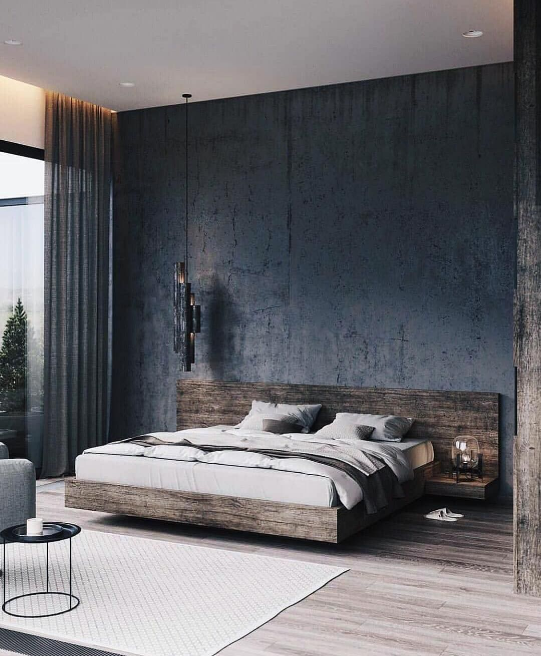 Modern Architecture Bedroom Design 5 in 5  Industrial