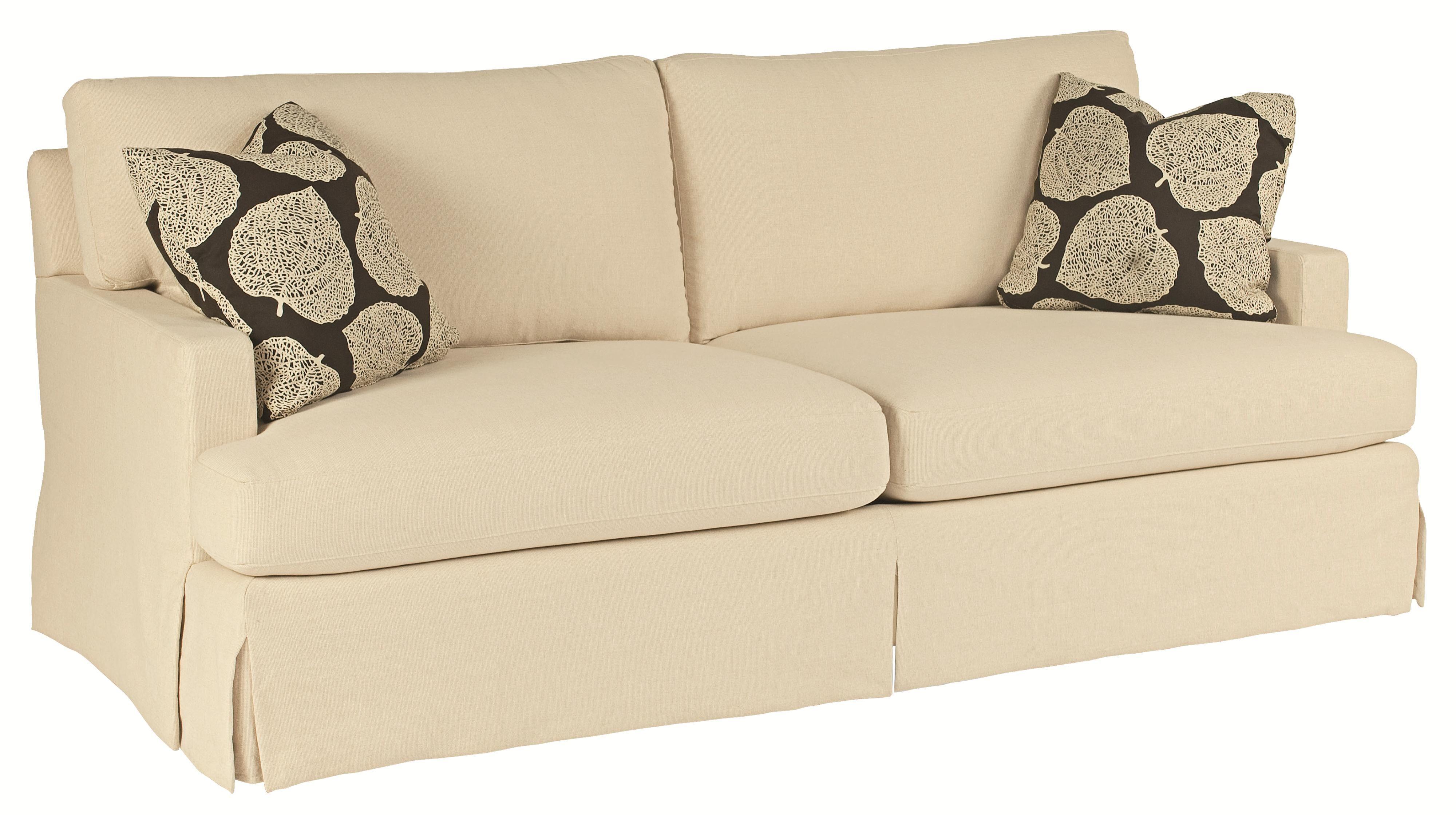Bernhardt Ryder B628 Fresh and Classic Sofa Sleeper with Smooth