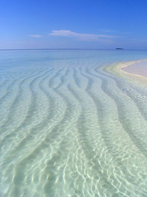 Oh For Crystal Clear Waters And White Sand Beneath Blue Sky