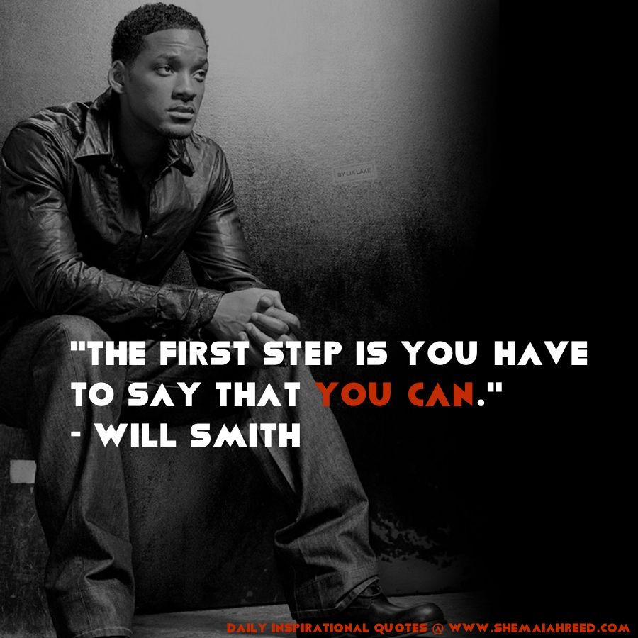 Inspirational Movie Quotes: Will Smith Quotes