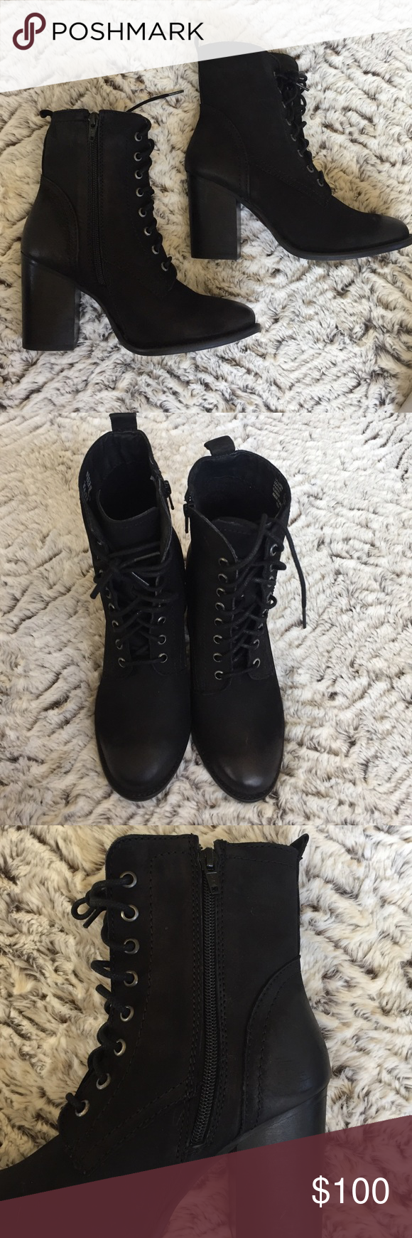 Steve Madden Boot/Heel Shoe Super cute. Brand new in box never been worn. Steve Madden Shoes Heeled Boots
