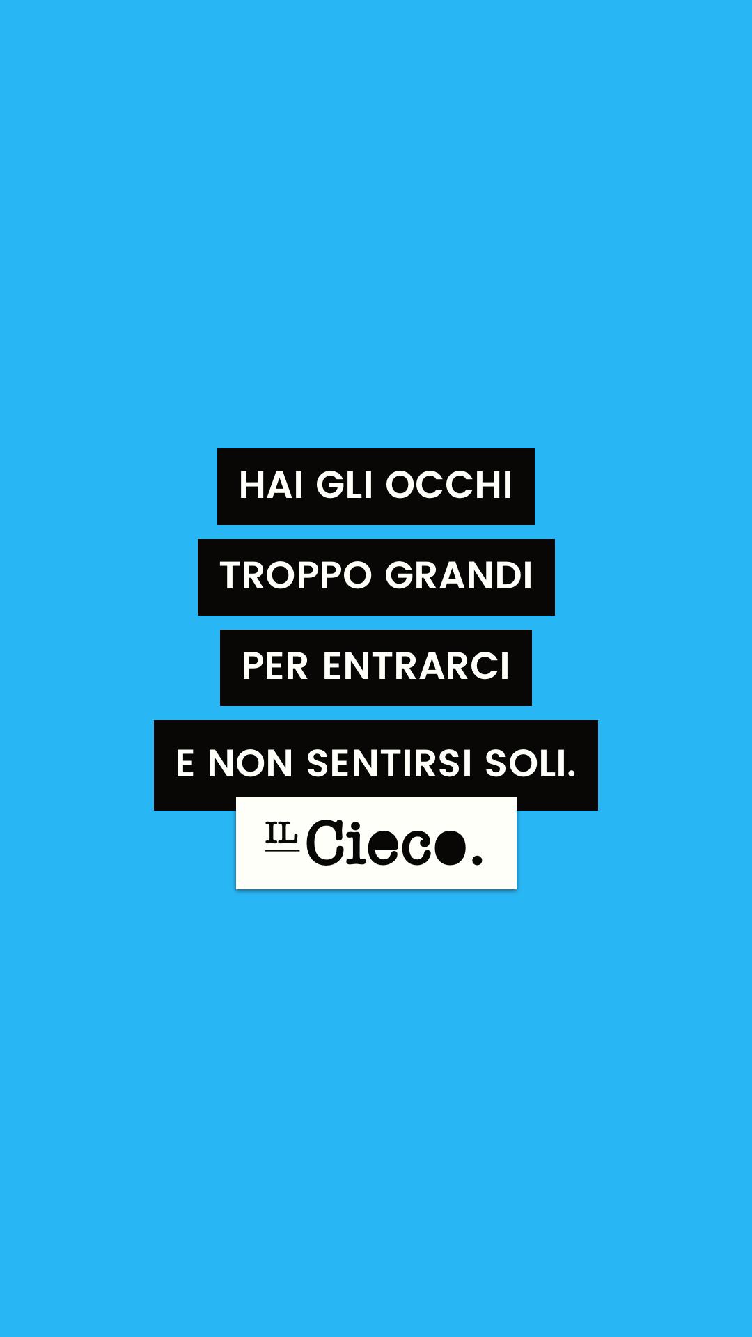 L'INFINITO CHE TI CIRCONDA. #ilcieco #siiciochesenti # ...