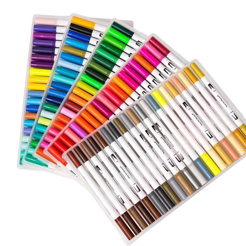 Dual Brush Fine Tip Pro Markers Marker Art Watercolor Brush