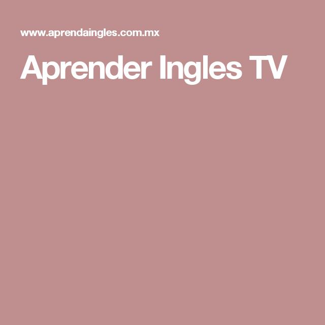 Aprender Ingles TV
