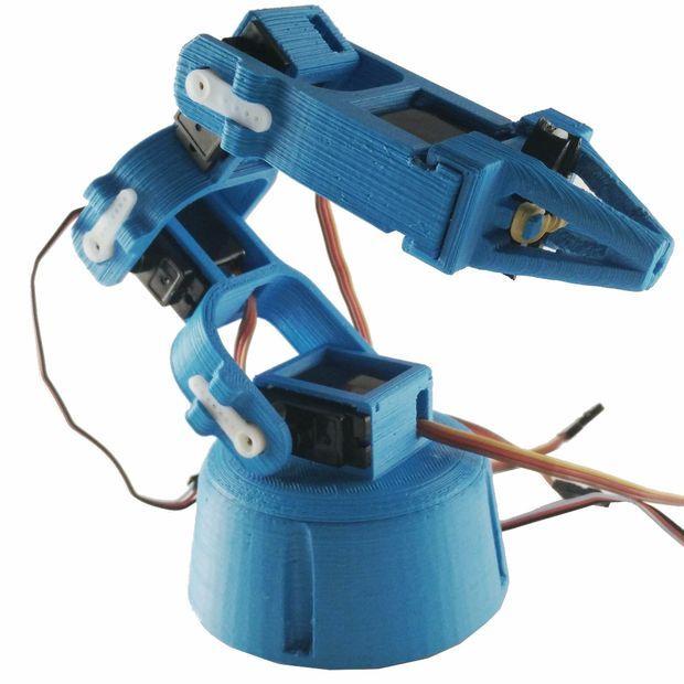 Make Your Own 3D Printed Robot | DIY | Robot arm, 3D Printer