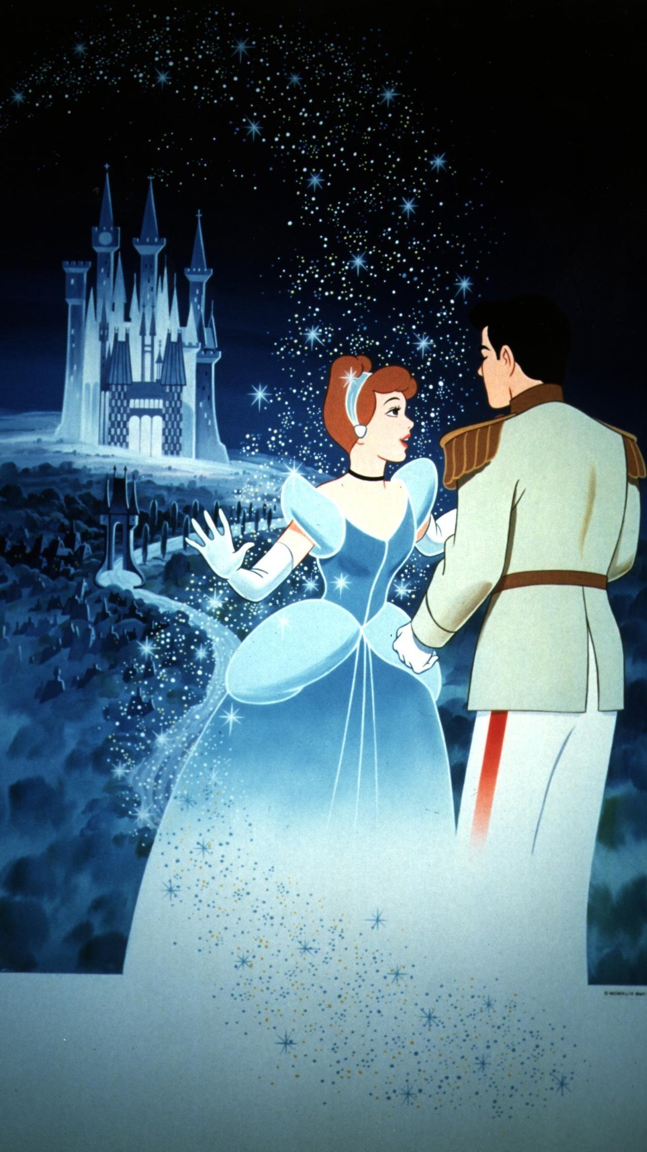 Cinderella 1950 Phone Wallpaper Cinderella Wallpaper Disney
