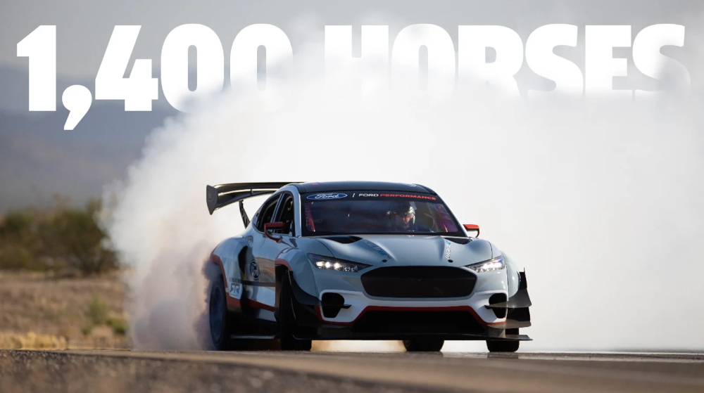 The Ford Mustang Mach E 1400 Is A 1 400 Hp Seven Motor Electric Speed Monster In 2020 Ford Mustang Mustang Awd Cars