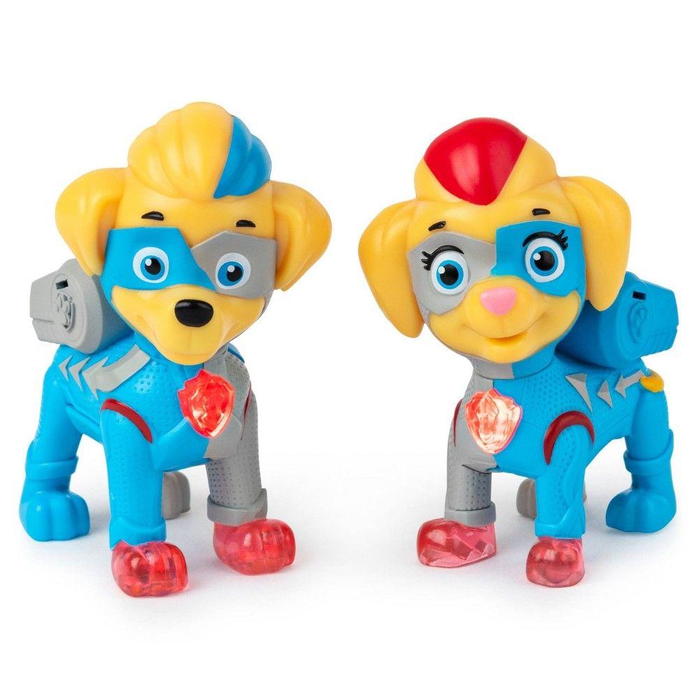 Paw Patrol Mighty Twins Figures 2pc In 2020 Paw Patrol Toys Paw Patrol Kids Toys