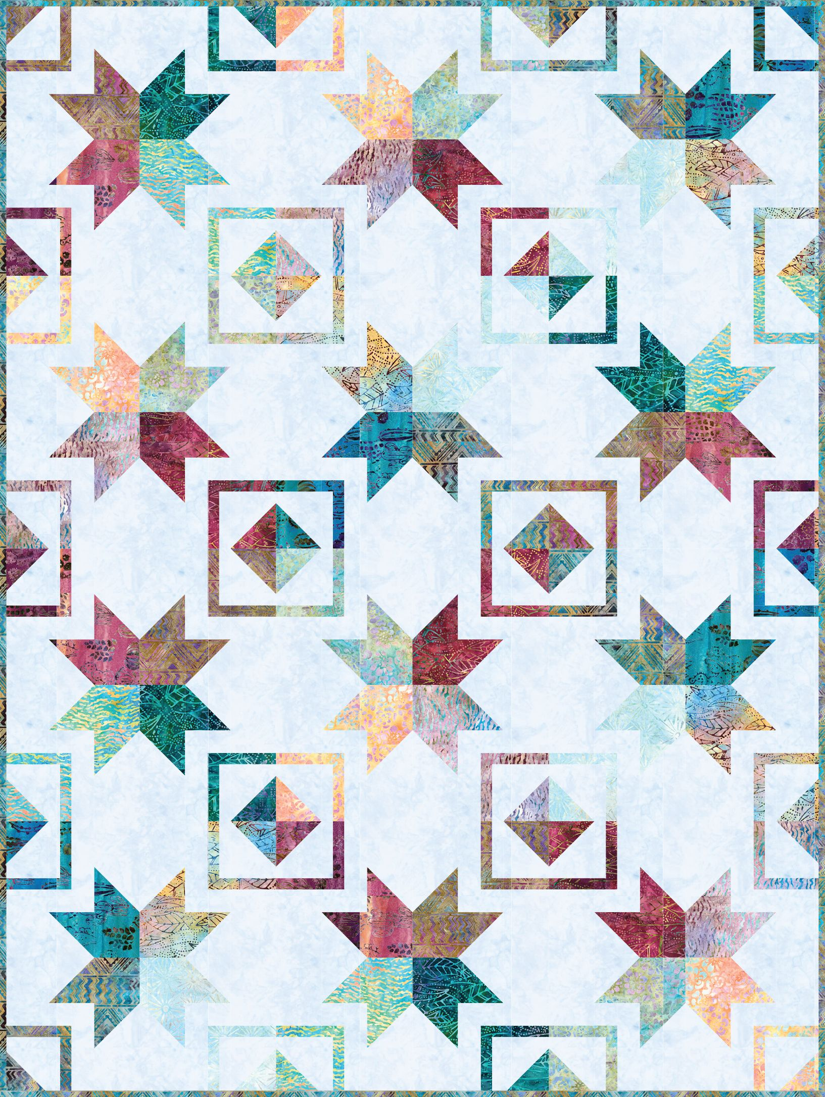 Mojave Designed By Ariga Mahmoudlou For Robert Kaufman Features Artisan Batiks Desertscapes By Lunn Studios Shippi Quilt Patterns Quilts Quilt Patterns Free