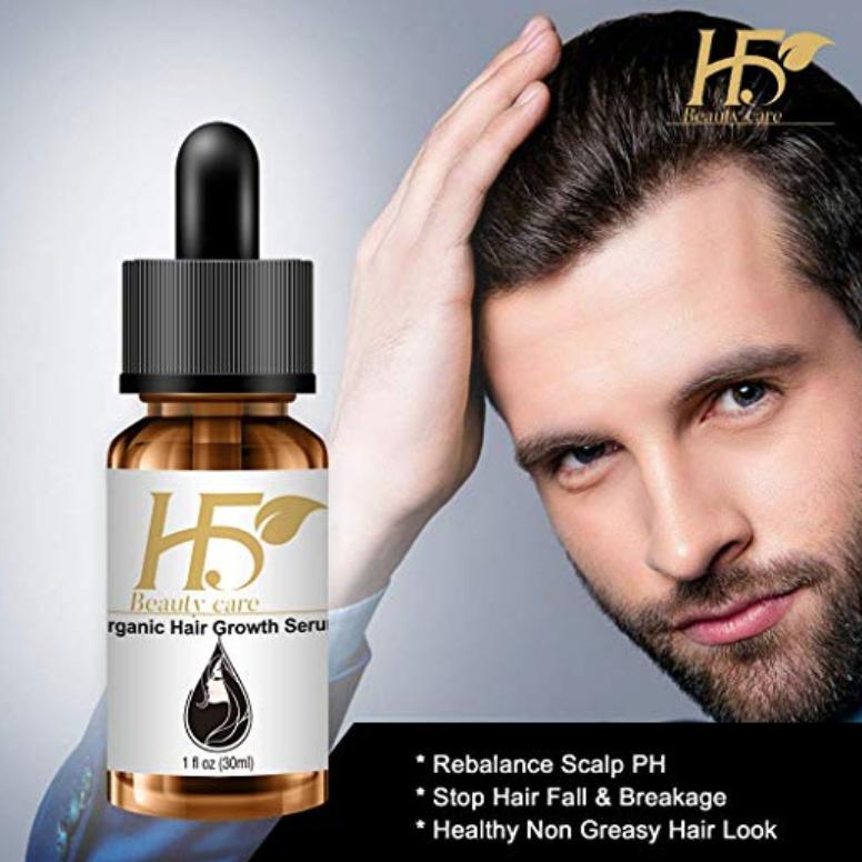 H5beauty Hair Growth Serum Anti Hair Fall Treatment Strong Hair Hair Growth Serum