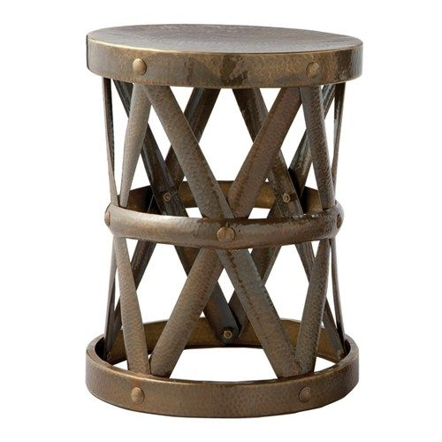 Arteriors Costello Vintage Brass Accent Table 12 Diameter X 15 High Drink Table For Family Room Chair Brass Accent Table Side Table Accent Table