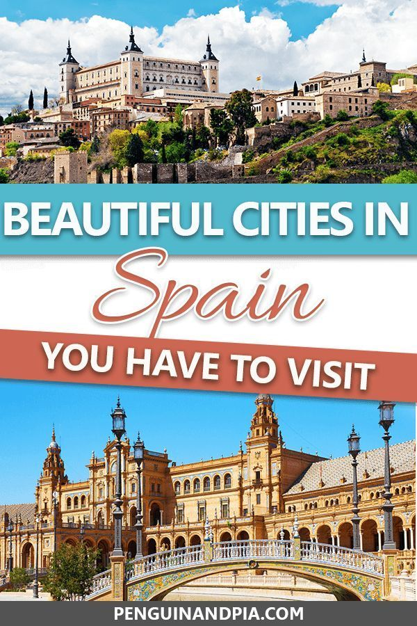 There are many beautiful cities in Spain that are worth a visit. In this article, we share some of our top picks to fuel your wanderlust and give you some Spain travel inspiration! #spain #spaintravel #beautifulcities #travelinspiration
