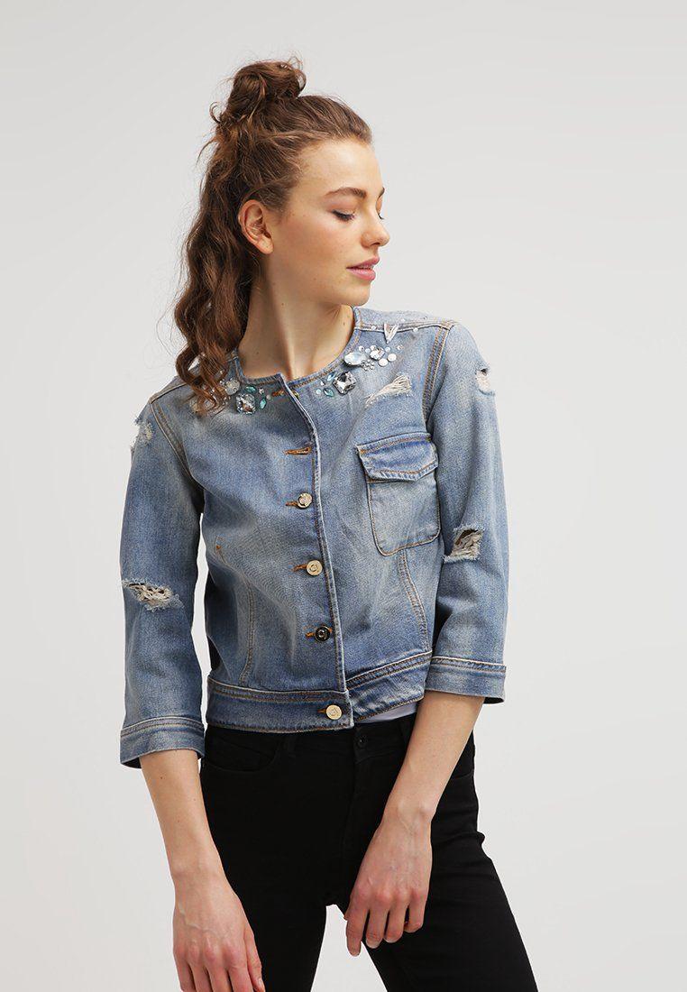 Veste jean femme cache cache