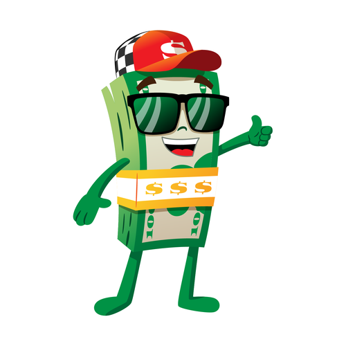 AAM's money man Character or mascot contest #AD  design#character#mascot#winning | Character design, Man character, Floral  illustrations