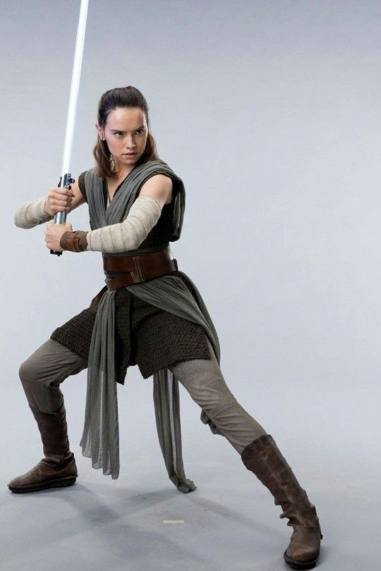 Rey, from Star Wars: Episode VIII - The Last Jedi