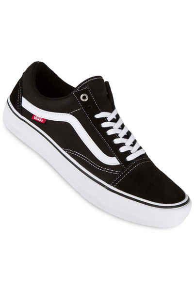 Vans Old Skool Pro Shoes (blackout)   Vans old skool, Vans
