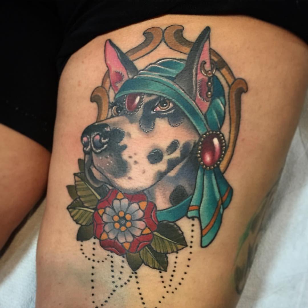 Witness The Art Tattoos Black 13 Tattoo Dog Tattoo