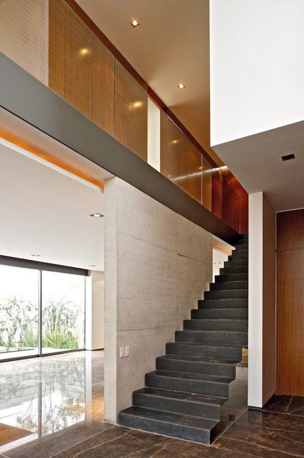 Interesting House Facade for Modern Mexico Design House design