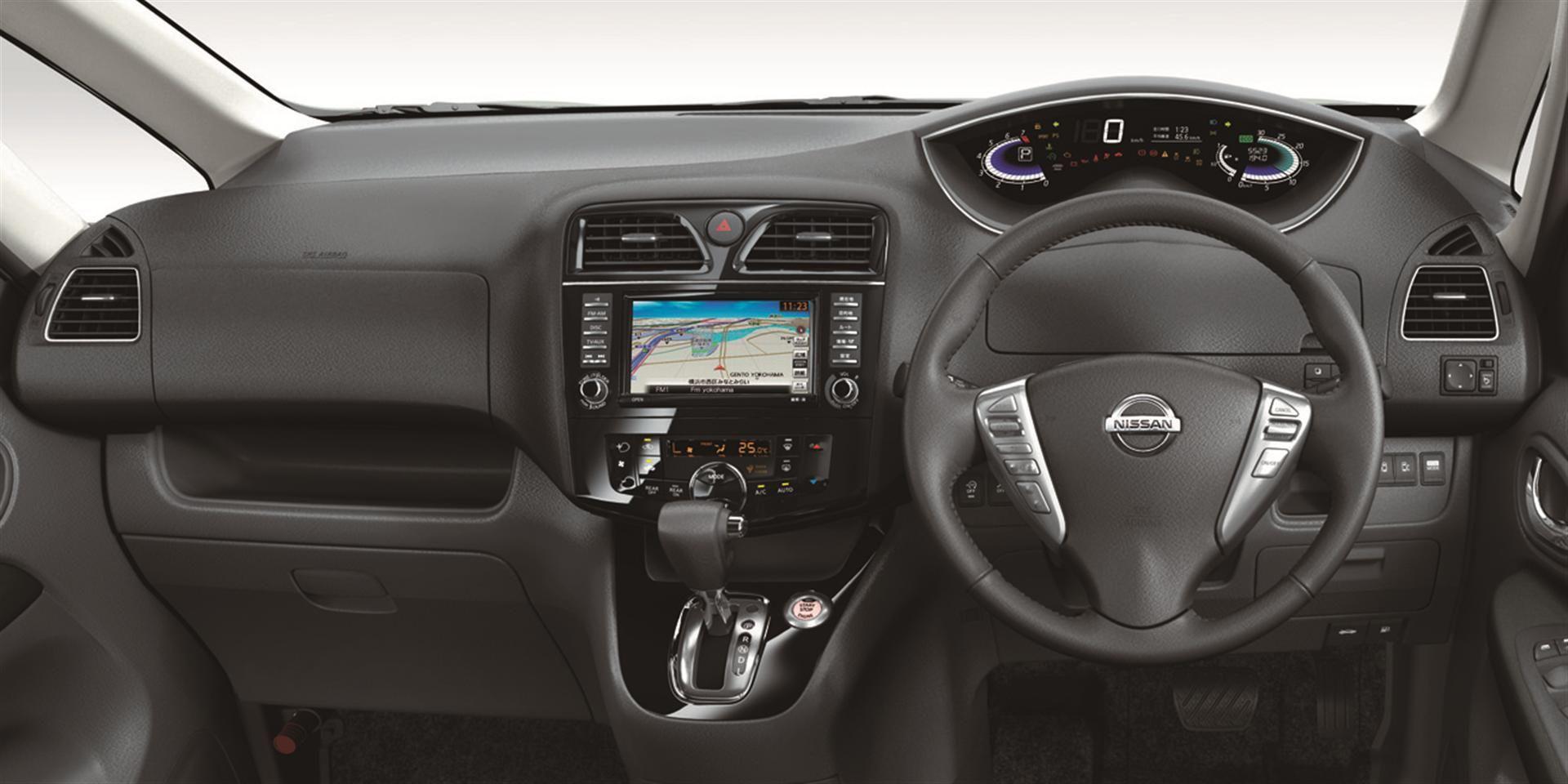 Nissan Serena Hybrid Interior Hybrid Car Nissan Car Interior