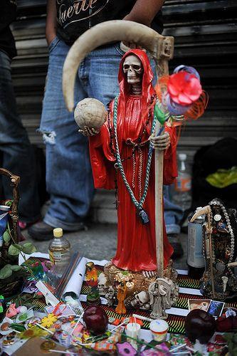 Santa Muerte | La Flaca in 2019 | Santa muerte, Grim reaper