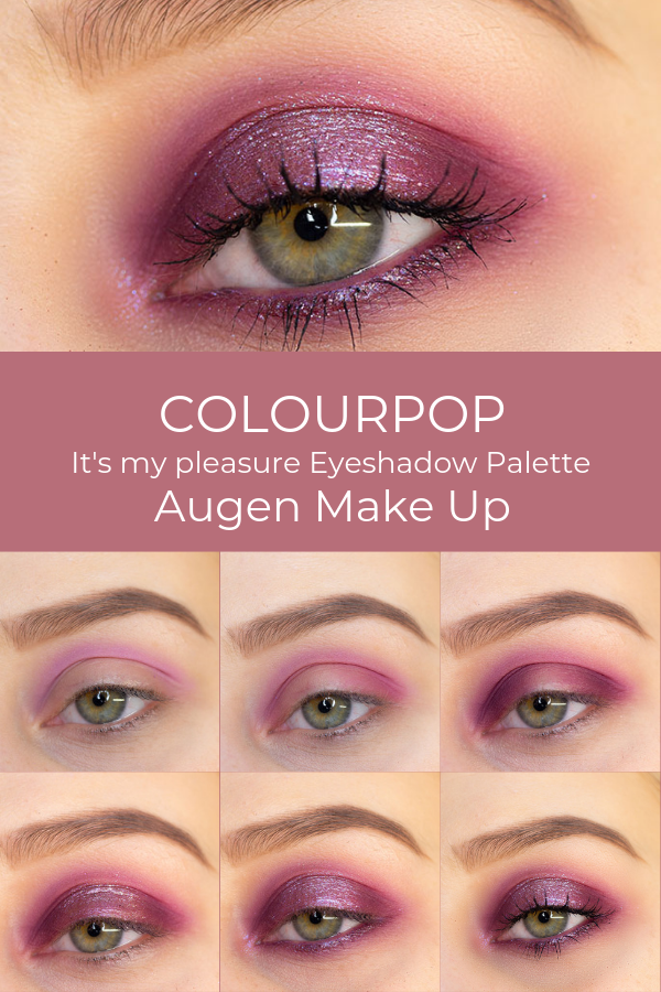 Photo of Colourpop eyeshadow palette 2019 – step by step eye make up tutorial …