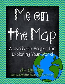 Me on the Map Project (Circle and Rectangle Project Choices