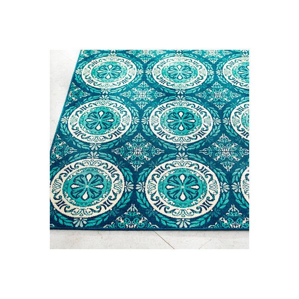 Grandin Road Tortola Medallion Outdoor Rug 67 X 96 199