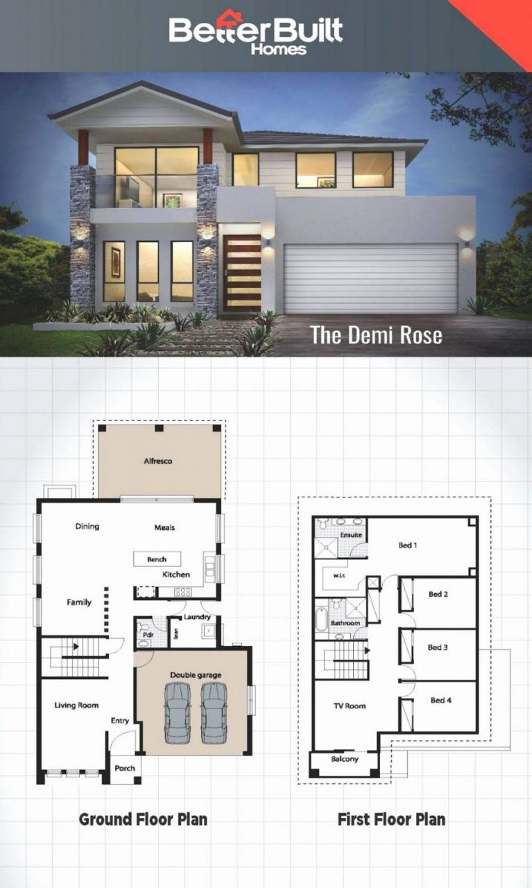 20 Sample Of Simple House Design 2018 In 2020 Modern House Floor Plans House Blueprints Contemporary House Plans
