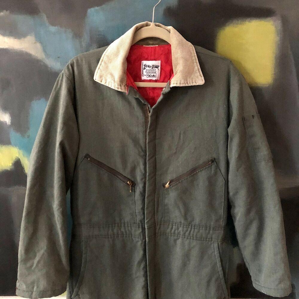 walls zero zone insulated coveralls workwear overalls on walls insulated coveralls id=31616