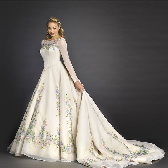 Meet our limited-edition Cinderella movie wedding gown from Disney\'s ...