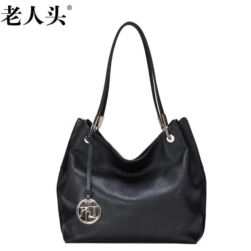 847475a1012 LAORENTOU New Superior cowhide women bag designer genuine leather bag  fashion women handbags casual simple leather
