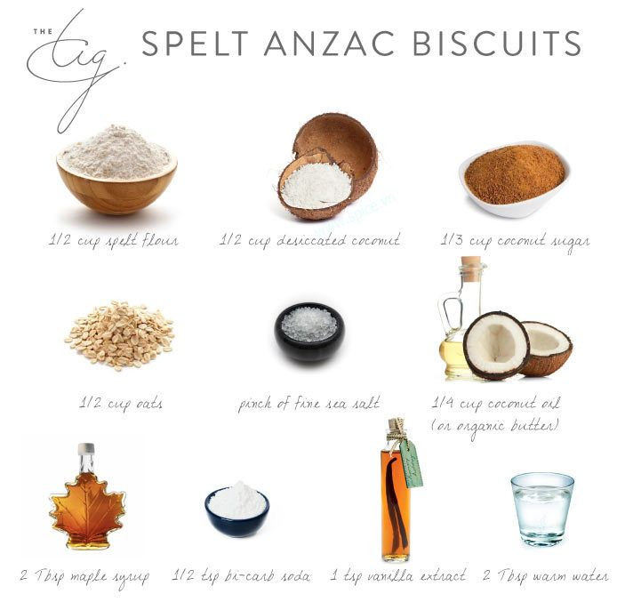 Spelt Anzac Biscuits (The TIG)