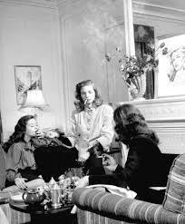 celebrity coffee break - Lauren Bacall