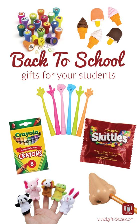 Attention teachers! these cute back to school gifts for students are great! #backtoschool #students #fromteacher