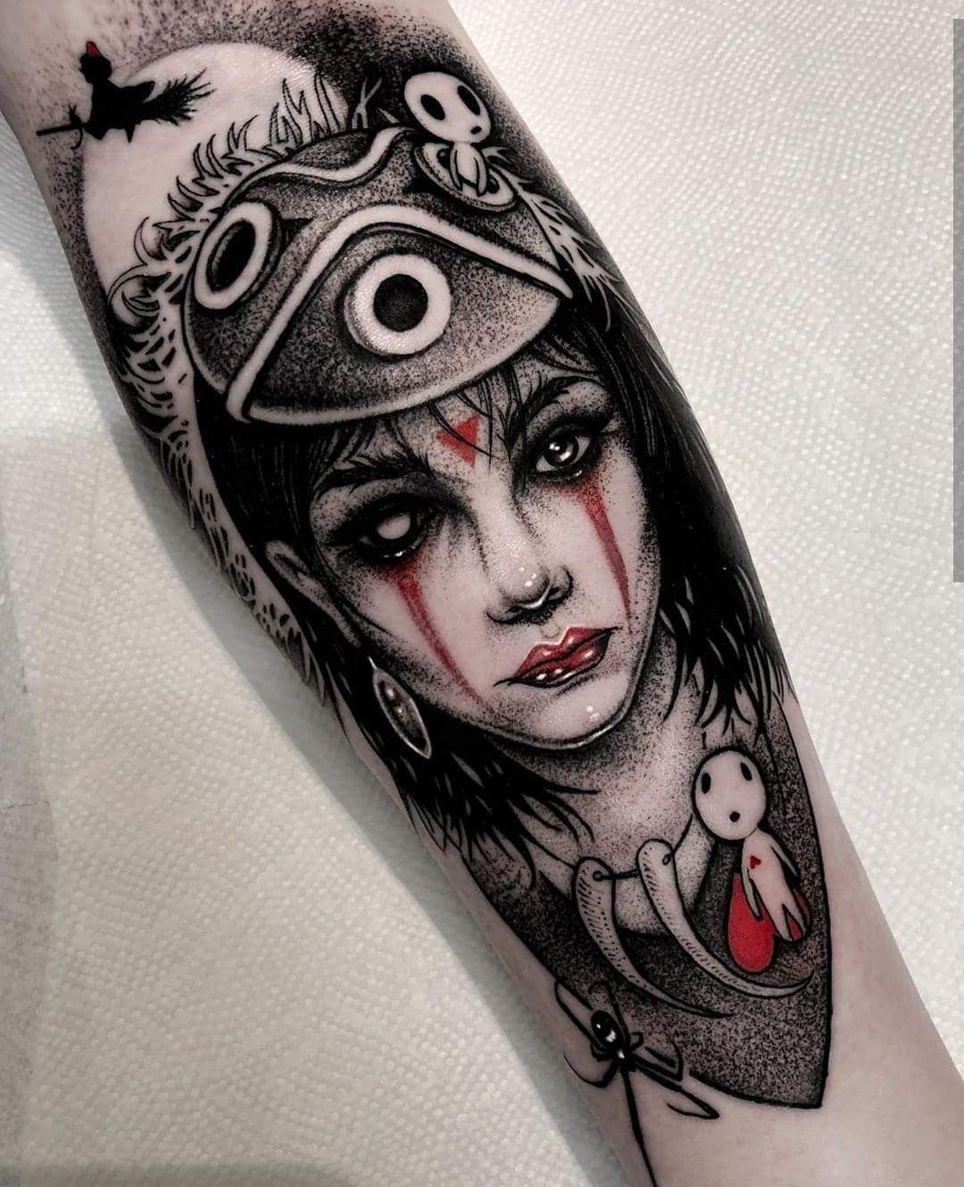 Pin By Zombie Tophat On Tattoos Tattoos Witch Tattoo Anime Tattoos