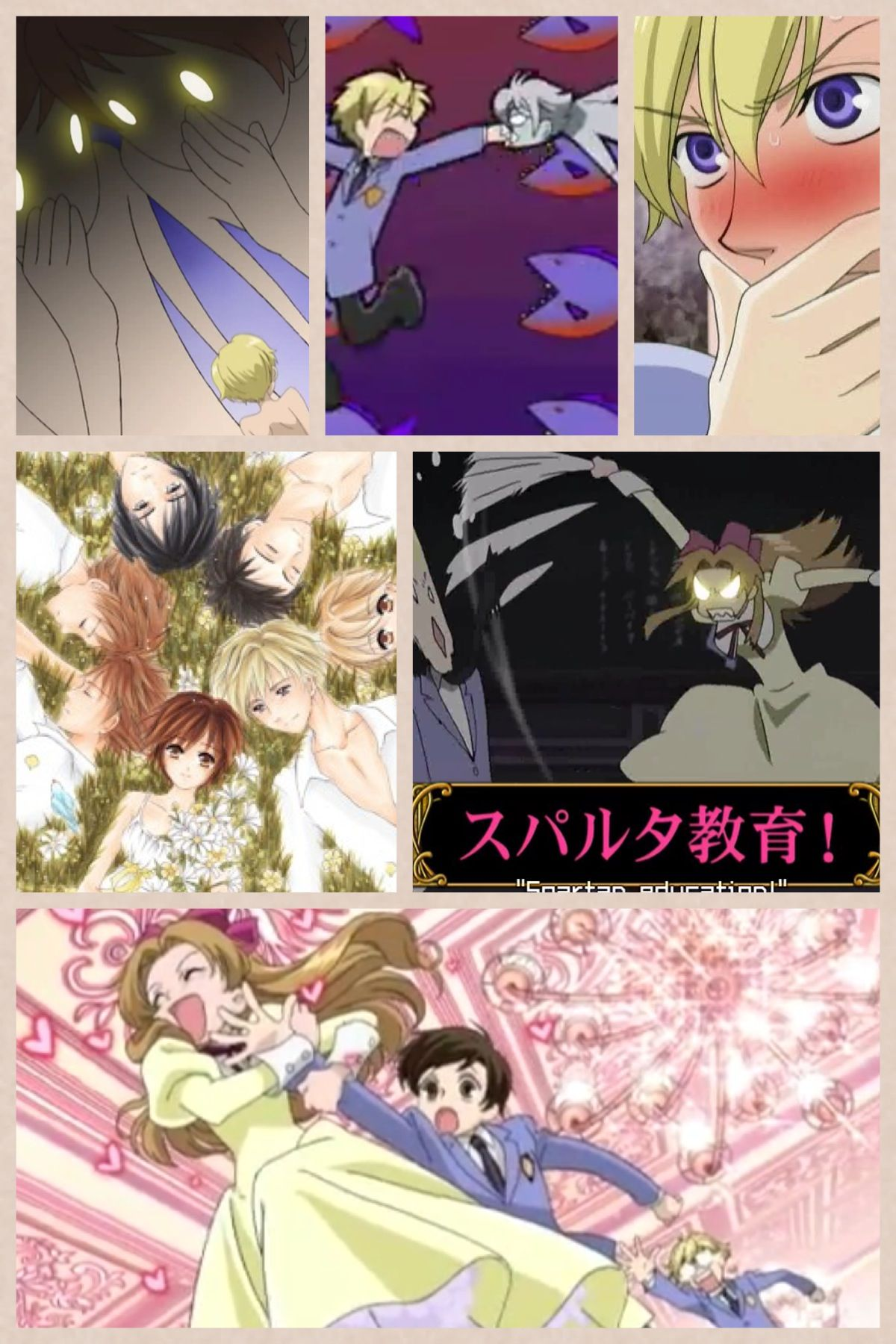 Ouran high school host club soo funny watch it if you have not!