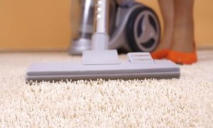 Groupon - Steam Carpet Cleaning for Three or Five Rooms from Affordable Carpet & Upholstery Cleaning (51% Off) in [missing {{location}} value]. Groupon deal price: $45