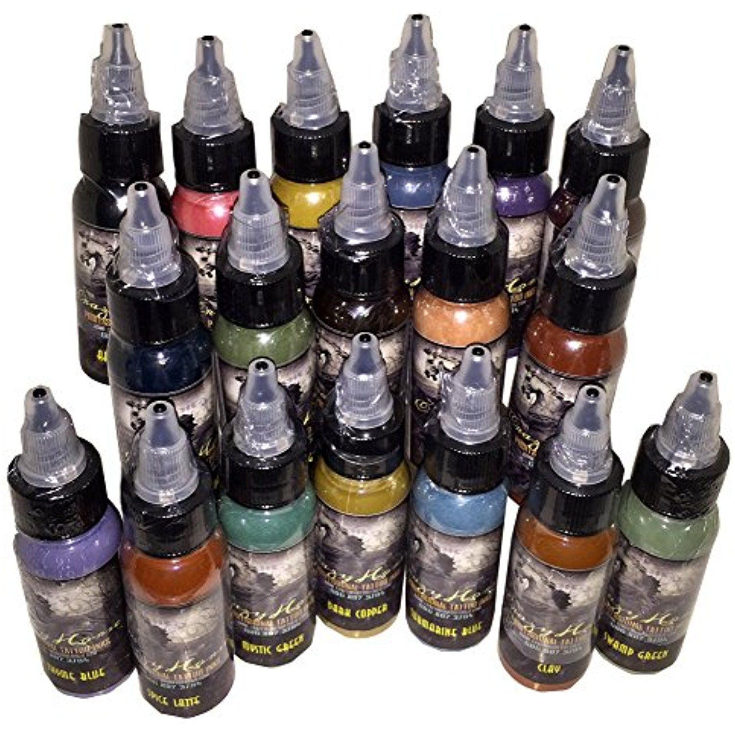 Crazyhorse High Quality Tattoo Ink Realism Set To View Further For This Item Visit The Image Link This Is An Affiliate L Ink Tattoo Tattoo Supplies Ink