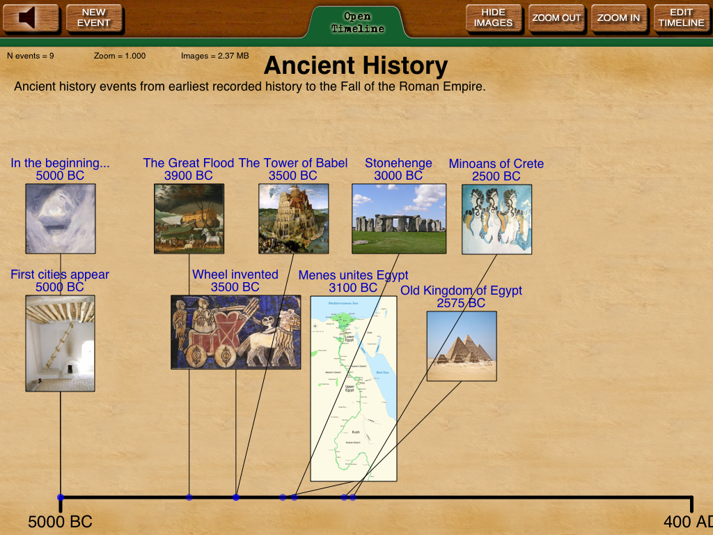 Timeline Builder App From Knowledge Quest